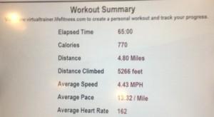 workout 3-17-13